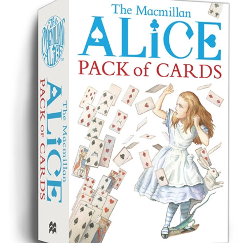 Alice In Wonderland Playing Cards
