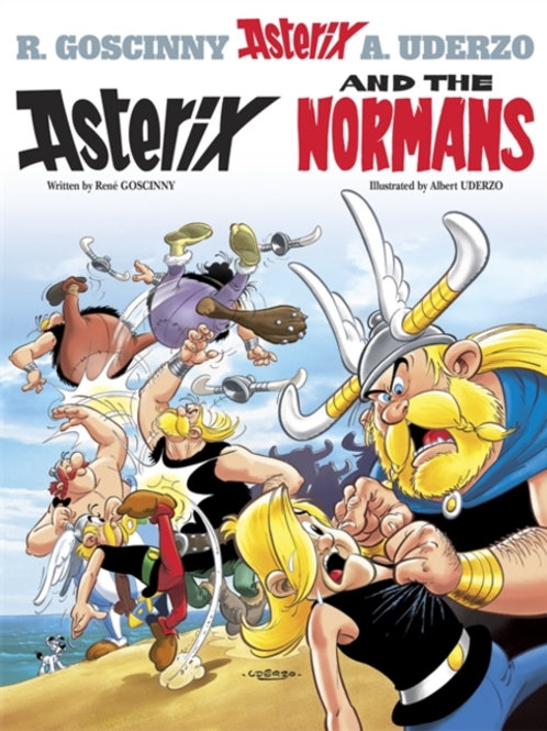 Rene Goscinny - Asterix And The Normans (AGE 8+) (No. 9)