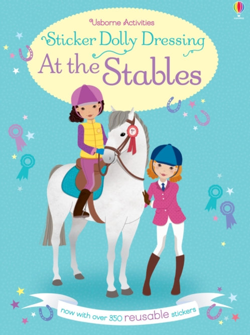 Lucy Bowman - Sticker Dolly Dressing At the Stables (AGE 5+)