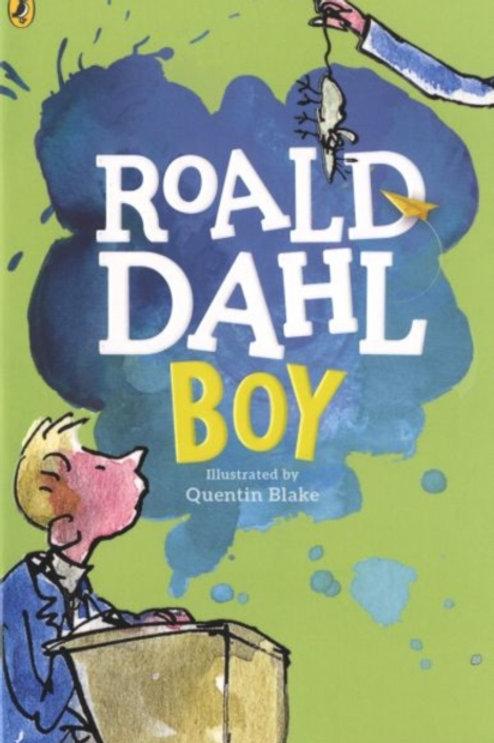 Roald Dahl - Boy : Tales of Childhood (AGE 9+)