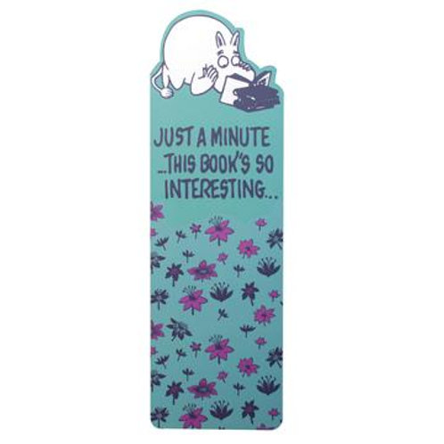 Moomin Bookmark - Just A Minute