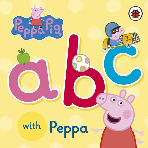ABC With Peppa Pig (AGE 1+) (HARDBACK)