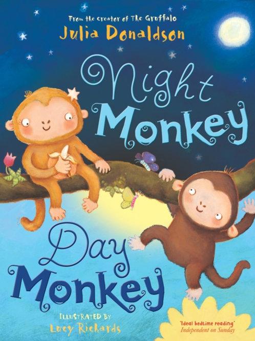 Julia Donaldson - Night Monkey, Day Monkey (AGE 3+)