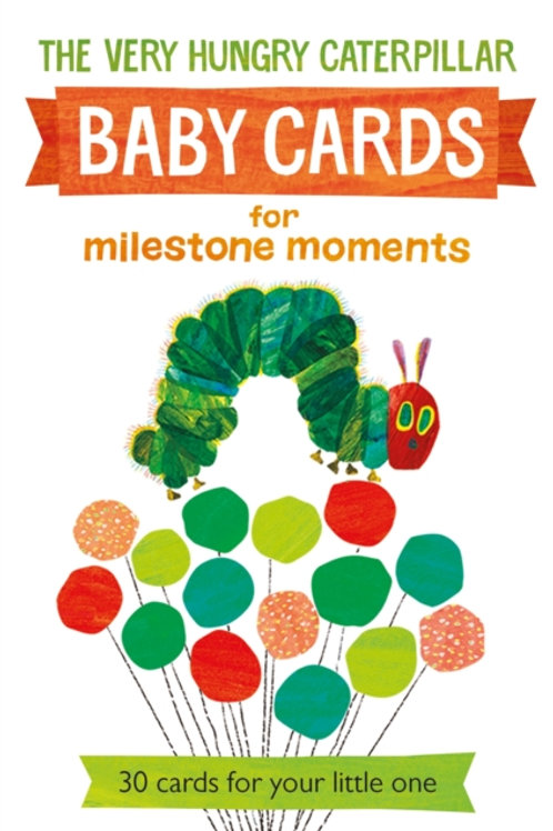 Eric Carle - Very Hungry Caterpillar Baby Cards For Milestone Moments