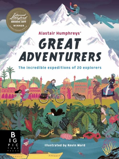 Alastair Humphreys' Great Adventurers (AGE 6+)