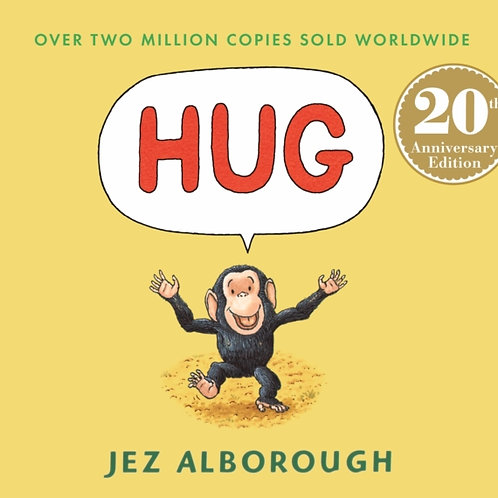 Jez Alborough - Hug (AGE  2+) (HARDBACK)