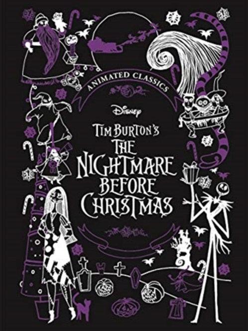 Disney Tim Burton's The Nightmare Before Christmas (Animated Classic) (HARDBACK)