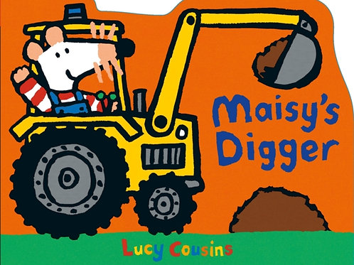 Lucy Cousins - Maisy's Digger (AGE 1+) (HARDBACK)