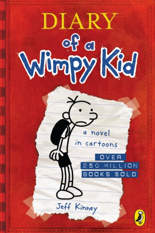 Jeff Kinney - Diary Of A Wimpy Kid (AGE 8+) (1st In Series)