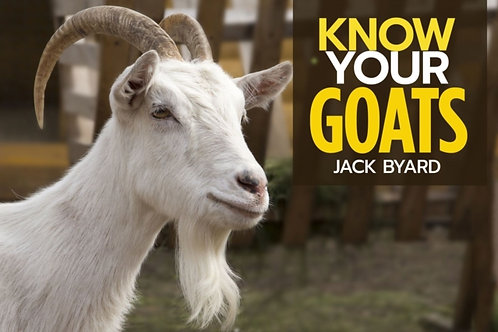 Jack Byard - Know Your Goats