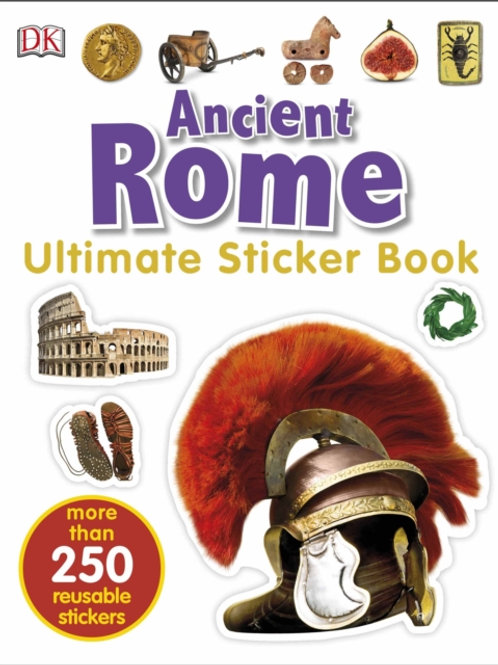 Ultimate Sticker Book: Ancient Rome (AGE 5+)