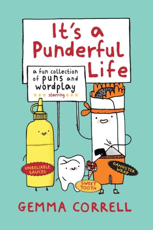 Gemma Correll - It's A Punderful Life (HARDBACK)