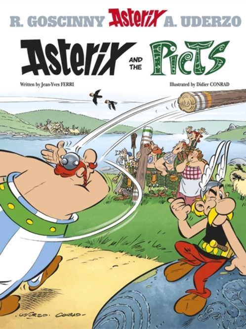 Jean-Yves Ferri - Asterix And The Picts (AGE 8+) (No. 35)