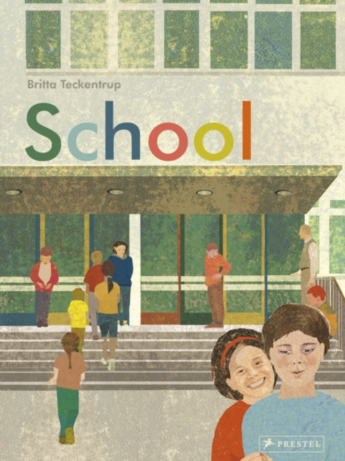 Britta Teckentrup - School: Come In And Take a Closer Look (AGE 7+) (HARDBACK)