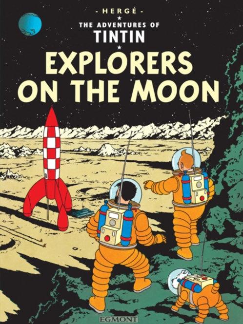 Herge - Tintin: Explorers On The Moon (Age 8+) (Follows: Destination Moon)