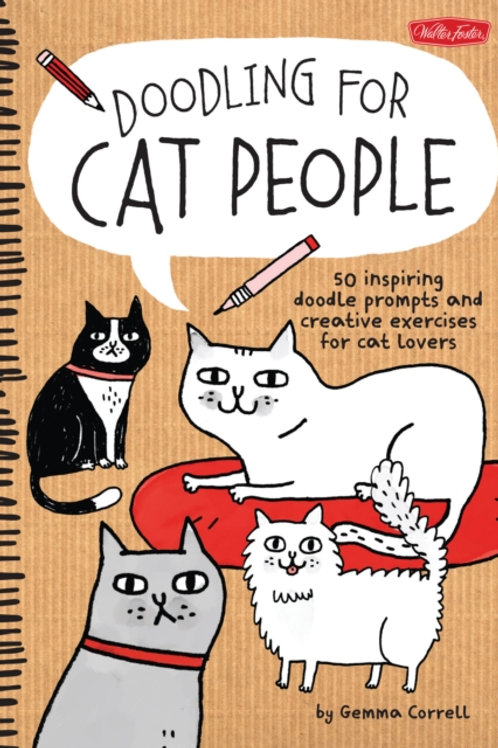 Gemma Correll - Doodling For Cat People