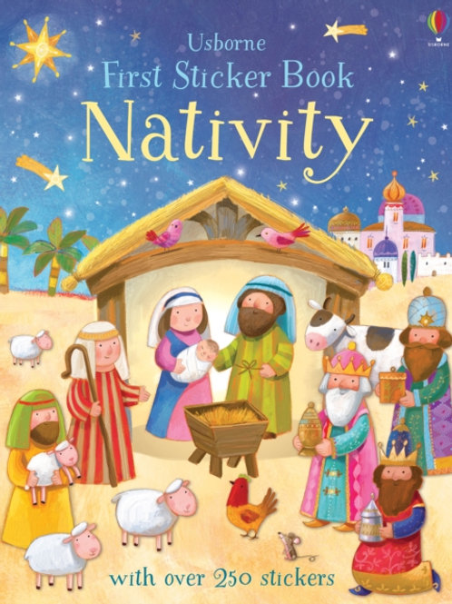 Felicity Brooks - First Sticker Book Nativity (AGE 3+)