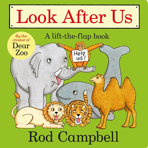 Rod Campbell - Look After Us (AGE 2+) (HARDBACK)