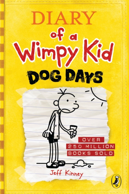 Jeff Kinney - Diary Of A Wimpy Kid: Dog Days (AGE 8+) (4th In Series)