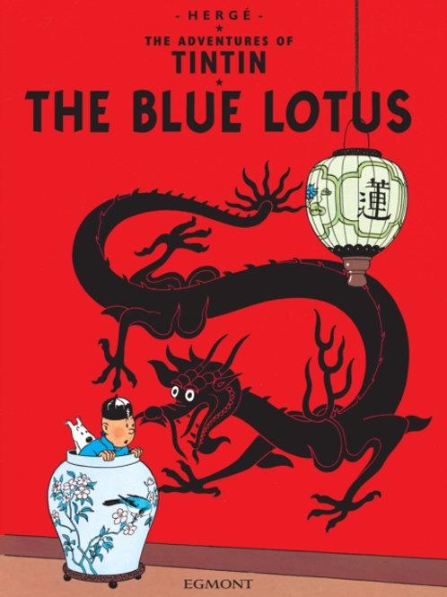 Herge - The Blue Lotus (Adventures Of Tintin) (AGE 8+)