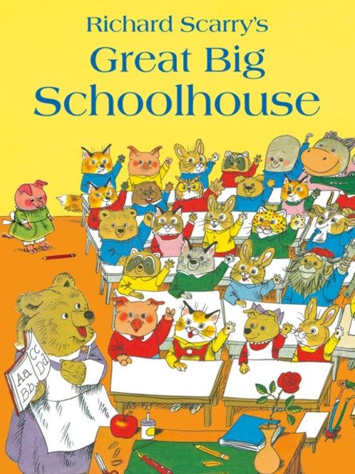 Richard Scarry - Great Big Schoolhouse (AGE 3+)