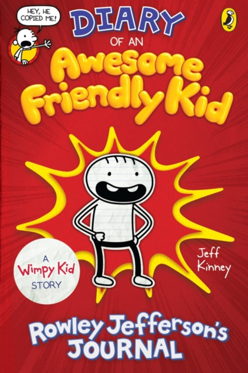 Jeff Kinney - Diary Of An Awesome Friendly Kid (AGE 8+)