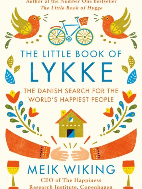 Meik Wiking - The Little Book of Lykke (HARDBACK)