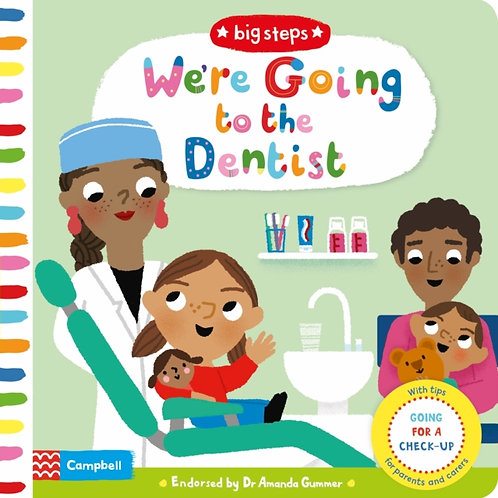 Marion Cocklico - We're Going To The Dentist (AGE 2+) (HARDBACK)
