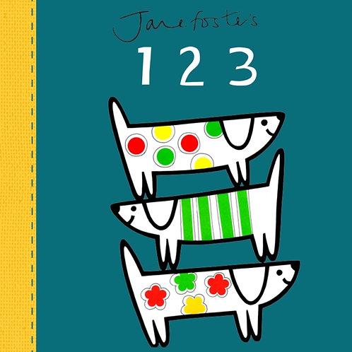 Jane Foster - Jane Foster's 123 (AGE 0+) (HARDBACK)