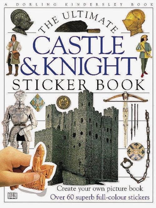 Ultimate Sticker Book: Castle & Knight (AGE 5+)