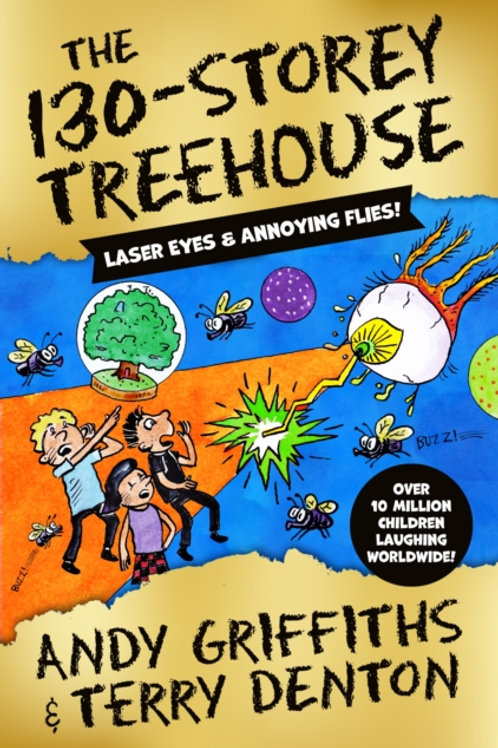 Andy Griffiths- The 130 Storey Treehouse (SIGNED) (AGE 7+) (HB) (10th In Series)