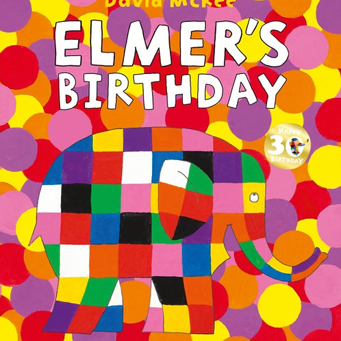 David McKee - Elmer's Birthday (AGE 3+)