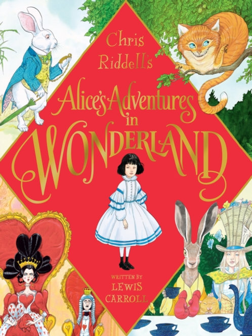 Chris Riddell (ill) -  Alice's Adventures In Wonderland (SIGNED BOOKPLATE ED)