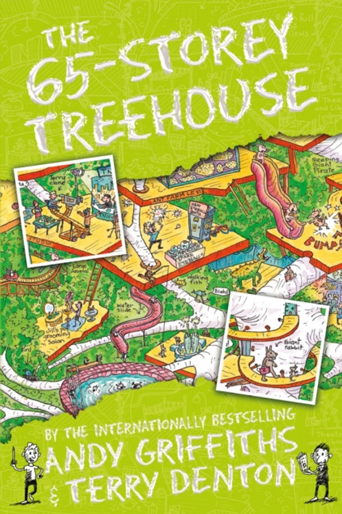 Andy Griffiths  - The 65-Storey Treehouse (AGE 7+) (5th In Series)