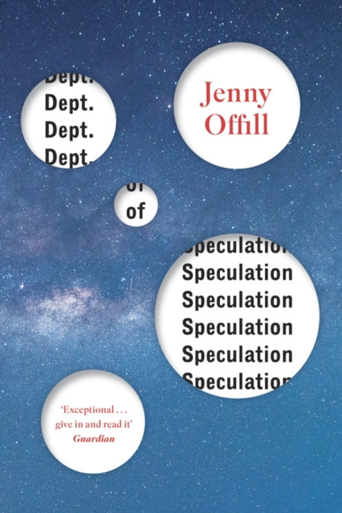 Jenny Offill - Dept. Of Speculation