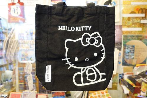 Hello Kitty Tote Bag (Black)