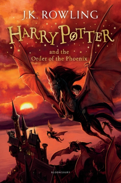 J.K. Rowling - Harry Potter And The Order Of Phoenix (AGE 8+) (5th In Series)