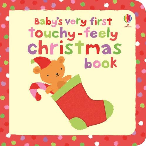 Fiona Watt - Baby's Very First Touchy-Feely Christmas Book (AGE 0+) (HARDBACK)