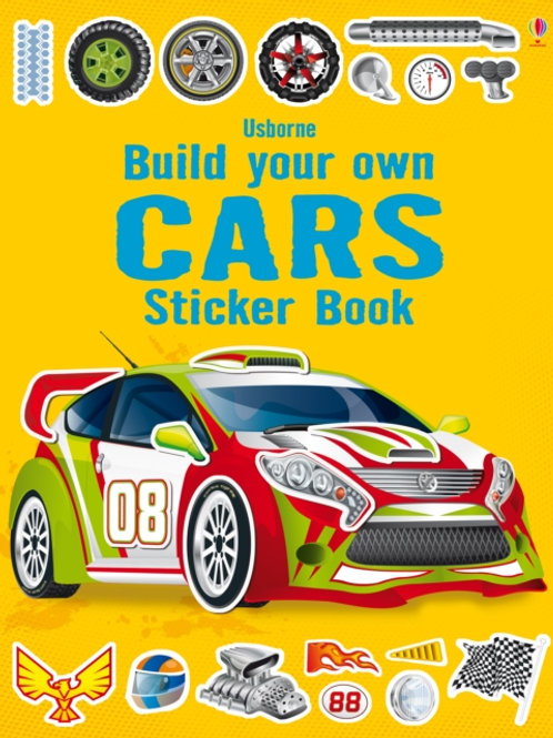 Simon Tudhope - Build Your Own Cars Sticker Book (AGE 5+)