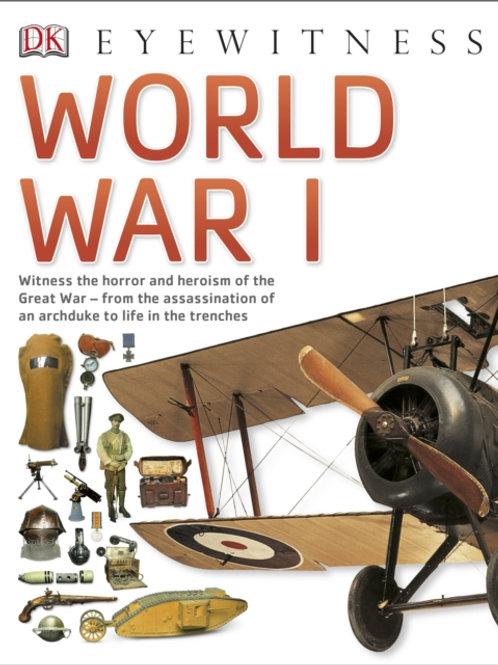 Eyewitness World War One (AGE 8+)