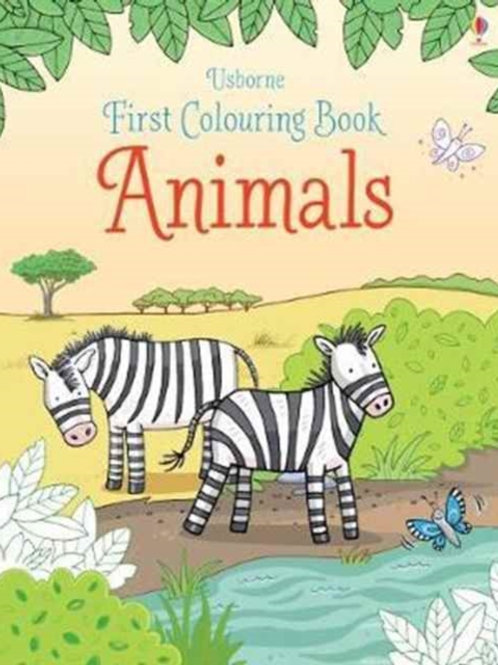 Jessica Greenwell - First Colouring Book : Animals (AGE 3+)