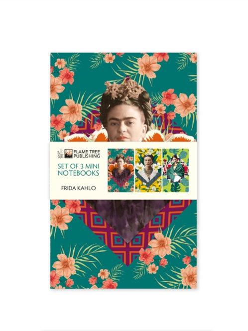 Frida Kahlo Mini Notebook Collection