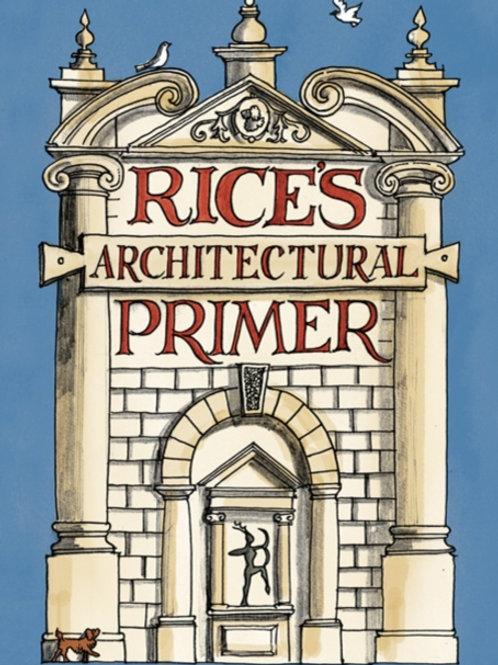 Matthew Rice - Rice's Architectural Primer (HARDBACK)