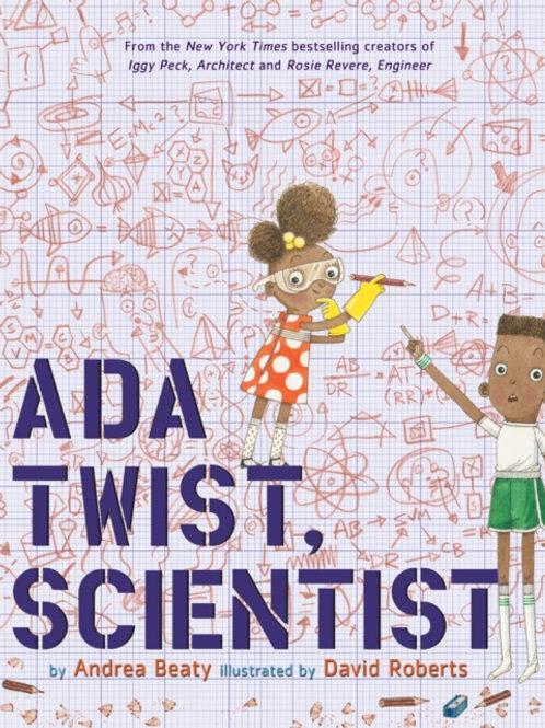 Andrea Beaty - Ada Twist, Scientist (AGE 5+) (HARDBACK)