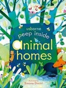 Anna Milbourne - Peep Inside Animal Homes (AGE 3+) (HARDBACK)