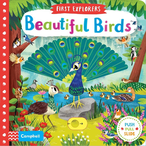 First Explorers : Beautiful Birds (AGE 0-3) (HARDBACK)