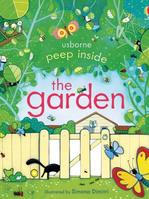 Anna Milbourne - Peep Inside The Garden (AGE 3+) (HARDBACK)
