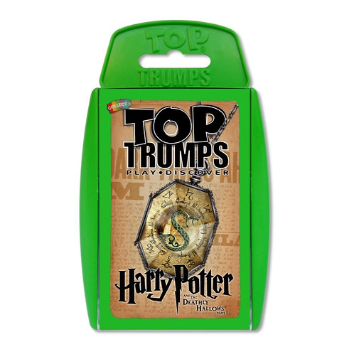 Harry Potter And The Deathly Hallows Part 1 Top Trumps (AGE 6+)