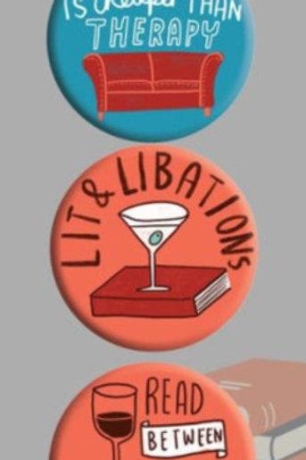 it And Libations 3 Badge Set