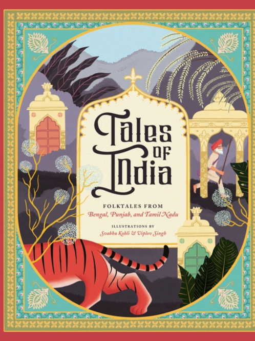 Tales Of India : Folk Tales From Bengal, Punjab, And Tamil Nadu (HARDBACK)